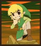 belt blonde_hair boots clothing footwear hair hat humanoid hylian legwear male nintendo not_furry pointy_ears pose rock short_hair smile solo the_legend_of_zelda toon_link video_games よしのあきえ  Rating: Safe Score: 17 User: Cαnε751 Date: February 24, 2016