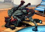 abs alien anal anal_penetration balls butt cum duo eyes_closed halo_(series) interspecies male male/male nipples orgasm penetration sangheili tail_sex uba video_games water   Rating: Explicit  Score: 19  User: LoveIsThePrice  Date: November 03, 2014