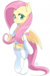 2016 blush clothing equine feathered_wings feathers female feral fluttershy_(mlp) friendship_is_magic garter_belt garter_straps green_eyes hair legwear long_hair looking_at_viewer mammal mococosan my_little_pony pegasus pink_hair simple_background smile solo spread_wings stockings white_background white_clothing wings  Rating: Safe Score: 19 User: Egekilde Date: April 27, 2016