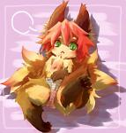 2010 3_toes :< ambiguous_gender black_pawpads blush brown_fur canine cheek_tuft chest_tuft clothing cub cute ear_tuft fox fur green_eyes hair inner_ear_fluff kemono kolshica looking_at_viewer mammal multicolored_fur orange_fur panties pawpads pink_hair solo toes tuft two_tone_fur underwear young  Rating: Questionable Score: 3 User: GONE_FOREVER Date: July 07, 2015