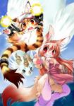 brown_eyes canine cat cub cute dragon feline female fur hair kemono loli magic mammal pink_fur pink_hair red_eyes wolf young 鷹呑   Rating: Questionable  Score: 0  User: KemonoLover96  Date: May 24, 2015