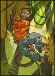 anthro ape baboon fur hair male mammal monkey prehensile_feet primate solo source_request unknown_artist  Rating: Safe Score: 0 User: Autumn~PrimateSky Date: November 16, 2015