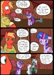 big_macintosh_(mlp) comic cutie_mark earth_pony equine feral friendship_is_magic group hair horn horse mammal metal_(artist) my_little_pony pony scratches twilight_sparkle_(mlp) unicorn