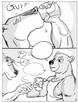 anthro bear canine comic dog duo furronika male male/male mammal  Rating: Questionable Score: 1 User: Vinea Date: June 17, 2014