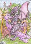 armor bracers castle choker claws cowgirl_(disambiguation) cum cum_in_pussy cum_inside cynder dirty-wolf dragon duo fangs female feral grass hi_res horn male male/female on_top outside penetration scales sex spyro spyro_the_dragon vaginal vaginal_penetration video_games wings  Rating: Explicit Score: 6 User: DerpboyZero Date: January 24, 2016