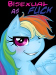 2013 absurd_res alpha_channel blue_feathers blue_fur blush buttercup_saiyan english_text equine feathered_wings feathers female feral friendship_is_magic fur hair hi_res looking_at_viewer mammal multicolored_hair my_little_pony pegasus profanity proud purple_eyes rainbow_dash_(mlp) rainbow_hair reaction_image simple_background solo surprise text transparent_background wings