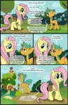 2013 comic cub cutie_mark dialog duo english_text equine eye_contact female feral fluttershy_(mlp) freckles friendship_is_magic green_eyes heads_and_tails horn horse male my_little_pony outside pegasus pony smudge_proof snail snails_(mlp) sweat tails_(mlp) text unicorn wings young   Rating: Safe  Score: 2  User: Smudge_Proof  Date: April 29, 2013