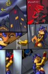 2014 anthro canine carmelita_fox comic digital_media_(artwork) female fox gun hook male mammal raccoon ranged_weapon sly_cooper sly_cooper_(series) thefuckingdevil weapon  Rating: Safe Score: 43 User: Robinebra Date: September 26, 2014