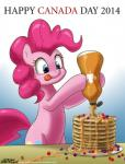 2014 blue_eyes canada_day earth_pony equine female feral food friendship_is_magic hair horse john_joseco mammal my_little_pony pancake pink_hair pinkie_pie_(mlp) pony solo syrup  Rating: Safe Score: 21 User: Robinebra Date: July 01, 2014