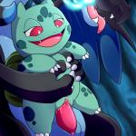 bulbasaur charizard claws fangs female green_body hi_res larger_male lonbluewolf male male/female mega_charizard mega_charizard_x mega_evolution nintendo open_mouth penetration penis pokémon pussy red_eyes size_difference smaller_female solo_focus tongue tongue_out vaginal vaginal_penetration video_games  Rating: Explicit Score: 18 User: Rad_Dudesman Date: February 06, 2016