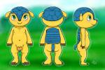 2015 anthro armadillo balls big_balls bigger_version_at_the_source blush butt chibi cute fifa fuleco fully_sheathed green_eyes male mammal mascot nipples nude penis sheath smile solo zekromlover  Rating: Explicit Score: 2 User: zekromlover Date: September 08, 2015
