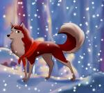 balto_(film) bandanna canine dog female feral husky jenna katikut looking_at_viewer mammal solo  Rating: Safe Score: 2 User: JennaLovesKate Date: August 05, 2014