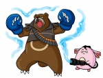 anthro bear chansey chubby claws grizzly_bear heavy_(team_fortress_2) male mammal medic_(team_fortress_2) nintendo pokémon superkusokao team_fortress_2 ursaring video_games   Rating: Safe  Score: 4  User: slyroon  Date: June 19, 2013