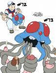 ambiguous_gender cephalopod cum cum_inside human jellyfish josemalvado male mammal marine nintendo penis pokémon sailor squid tentaclejob tentacles tentacool tentacruel uncut video_games   Rating: Explicit  Score: 10  User: Daneasaur  Date: October 31, 2014
