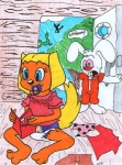 2012 anthro brandy_and_mr._whiskers brandy_harrington canine colored_pencil_(artwork) conejoblanco diaper disney duo female infantilism lagomorph male mammal marker_(artwork) mixed_media mr._whiskers pacifier rabbit traditional_media_(artwork) young  Rating: Safe Score: -6 User: letmerok Date: July 07, 2013