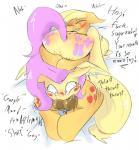 2016 applejack_(mlp) balls blonde_hair blush cutie_mark deep_throat dialogue dickgirl dickgirl/female duo earth_pony english_text equine female feral fluttershy_(mlp) friendship_is_magic hair hooves horse intersex intersex/female long_hair lying mammal manfartwish my_little_pony on_back on_top oral pegasus pink_hair pony sex tears text thrusting wings  Rating: Explicit Score: 22 User: lemongrab Date: January 18, 2016