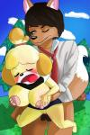 animal_crossing breasts canine dessikuu female fox hi_res isabelle_(animal_crossing) male male/female mammal nintendo outside pussy sex video_games  Rating: Explicit Score: -1 User: Themic609 Date: March 28, 2016