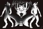 anthro balls canine ctrl_alt_yiff dog dragon fur furred_dragon horn husky hybrid knot male mammal model_sheet nude penis scalie sheath solo  Rating: Explicit Score: 0 User: Ctrl-Alt-Spiff Date: October 02, 2015