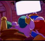 anus blush duo escargoon gastropod king_dedede kirby_(series) male nintendo penetration penis snail sweat unknown_artist video_games  Rating: Explicit Score: 2 User: rakushun Date: August 02, 2014