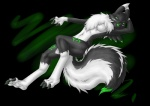 acidrenamon alpha_channel alternate_color anthro black_fur canine chest_tuft countershading digimon digital_media_(artwork) female forceswerwolf fox fur green_markings green_tongue hybrid mammal markings nude paws renamon simple_background skunk solo transparent_background tuft white_fur  Rating: Questionable Score: 1 User: Kitsu~ Date: February 20, 2010
