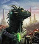 2011 3d_(artwork) building city clothed clothing cloud crystal detailed_background digital_media_(artwork) dragon feral forest glowing green_scales hizathri_(species) horn leaves lizard male mountain outside pose proud reptile salireths salireths_(character) scales scalie scarf sharp_teeth signature sky skyscraper solo spines standing sun_rays teeth text tree yellow_eyes yellow_sclera  Rating: Safe Score: 7 User: zergrush Date: April 05, 2016