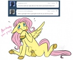 animal_genitalia balls cartoonlion cartoonlion's_futaverse collar cutie_mark equine fan_character feathered_wings feathers feral fetlocks fluttershy_(mlp) friendship_is_magic fur futashy_(cartoonlion) hair hooves intersex looking_at_viewer mammal my_little_pony nude pegasus penis penis_tip pink_hair sheath simple_background teal_eyes teats tongue tongue_out tumblr white_background wings yellow_feathers yellow_fur  Rating: Explicit Score: 9 User: Googlipod Date: November 14, 2015