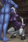 blue_eyes book breasts butt chataya comic crouching draenei drgraevling duo elf erect_nipples fellatio female hair hooves horn horn_grab humanoid legwear library male male/female nipples nude oral penis purple_skin saliva sex standing stockings video_games warcraft white_hair world_of_warcraft   Rating: Explicit  Score: 21  User: TheHuskyK9  Date: February 16, 2013
