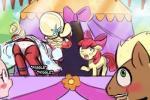 apple_bloom_(mlp) big_mac big_macintosh_(mlp) clothing crossdressing equine friendship_is_magic horse lumineko mammal my_little_pony orchard_blossom panties pony underwear  Rating: Safe Score: 2 User: lumineko Date: October 05, 2015