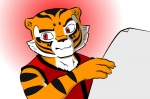 feline female kung_fu_panda madessi mammal master_tigress meme reaction_image reading red_eyes solo tiger   Rating: Safe  Score: 6  User: Mad  Date: June 13, 2013