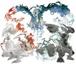 ambiguous_gender blue_eyes dragon electricity fire fur ice kann1kura_(kanna) kyurem legendary_pokémon nintendo plain_background pokémon red_eyes reshiram teeth video_games white_fur wings yellow_eyes zekrom   Rating: Safe  Score: 5  User: DeltaFlame  Date: October 19, 2014