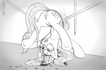 2013 anus blood cutie_mark dead equine fearingfun female feral friendship_is_magic gore headshot horse lying mammal monochrome my_little_pony open_mouth pinkie_pie_(mlp) pony pussy solo upside_down   Rating: Explicit  Score: 4  User: Falord  Date: June 11, 2013