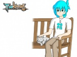 bench cat chair clothed clothing cyan_eyes cyan_hair dog_tags english_text feline feral hair human jewelry lady_nora male misterkidder necklace petting plain_background ring seat sitting tag text trace_legacy twokinds webcomic white_background yellow_eyes   Rating: Safe  Score: -2  User: Sods  Date: February 05, 2013