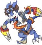 davis digimon flamedramon kanada male transformation  Rating: Safe Score: -1 User: Untamed Date: February 07, 2016