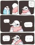 aftertale animated_skeleton blood bone clothed clothing comic dialogue english_text glitch loverofpiggies male not_furry sans_(undertale) skeleton text undead undertale video_games wounded  Rating: Safe Score: 5 User: slyroon Date: March 01, 2016
