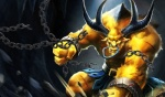 1215x717 abs alistar anthro belt biceps bovine cattle chain clothed clothing cuffs facial_piercing fantasy glowing glowing_eyes hair half-dressed horn league_of_legends male mammal minotaur muscles nipples nose_piercing nose_ring pecs piercing scar solo topless unknown_artist video_games yellow_eyes   Rating: Safe  Score: 3  User: mj  Date: October 10, 2012