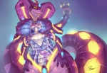 android areola bea_(seisuke) breasts dickgirl female four_arms intersex machine mechanical multi_limb multiple_arms naga nipples open_mouth penis rajii reptile robot scalie seisuke snake technophilia tentacles   Rating: Explicit  Score: 21  User: kristsf  Date: July 15, 2013