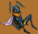 4_arms antennae anthro arthropod bee bumbell insect male mandibles multi_limb multiple_arms penis prehensile_penis simple_background solo tongue voidirium wings  Rating: Explicit Score: 2 User: jaggle Date: October 08, 2015