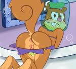 anus bent_over blush breasts butt female jar looking_at_viewer looking_back mammal nepp pussy rear_view rodent sandy_cheeks solo spongebob_squarepants squirrel underwater water   Rating: Explicit  Score: 43  User: Nepp  Date: October 04, 2013