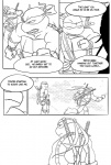 anthro comic duo leonardo_(tmnt) male monochrome raphael_(tmnt) reptile scalie sneefee teenage_mutant_ninja_turtles turtle  Rating: Safe Score: 4 User: megusta Date: July 15, 2012