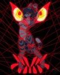 2020 4:5 anthro arms_tied bound conditional_dnp felid female floating hi_res kidakins kill_la_kill mammal pantherine ryūko_matoi senketsu solo strings studio_trigger tiger tongue tongue_out