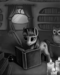 avian bird black_and_white book equine female feral friendship_is_magic greyscale horn magpie_(artist) mammal monochrome my_little_pony owl owlowiscious_(mlp) twilight_sparkle_(mlp) unicorn  Rating: Safe Score: 4 User: IHateRule34 Date: July 18, 2011