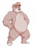 anthro baloo bear character_from_animated_television_series chubby disney male mammal nude overweight rpique solo talespin   Rating: Safe  Score: 5  User: toboe  Date: April 07, 2013