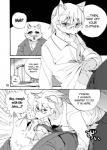 "1boshi anthro canine comic doujinshi fox fur japanese kemono male male/male mammal monochrome  Rating: Questionable Score: 1 User: SkokiaanFox Date: June 28, 2015"""