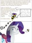 2013 arthropod bee blue_eyes bsting butt cutie_mark equine female feral friendship_is_magic hair hi_res horn insect long_hair mammal my_little_pony rarity_(mlp) unicorn  Rating: Safe Score: 1 User: BSting Date: September 28, 2013