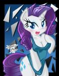 2014 abstract_background anthro anthrofied blue_eyes bottomless breasts cleavage clothed clothing covering cutie_mark danmakuman equine eyeshadow female friendship_is_magic hair horn looking_at_viewer makeup mammal my_little_pony pulling purple_hair rarity_(mlp) shirt solo unicorn   Rating: Safe  Score: 12  User: 2DUK  Date: April 18, 2014