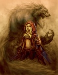 2011 alivanart angry anthro big_bad_wolf blonde_hair blue_eyes canine cape chain claws clenched_teeth clothing detailed duo fangs female front_view fur grey_fur hair human little_red_riding_hood little_red_riding_hood_(copyright) long_hair looking_at_viewer male mammal melee_weapon navel no_pupils nude pants red_cape sharp_claws sharp_teeth side_view simple_background size_difference sketch small_shirt standing sword teeth weapon were werewolf  Rating: Safe Score: 8 User: Vanzilen Date: December 16, 2015