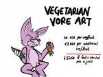 "ambiguous_gender anthro ariffrazalin carrot cheek_bulge eating english_text hard_vore humor joke lagomorph mammal navel nude rabbit sitting solo text vore  Rating: Safe Score: 10 User: Halite Date: May 19, 2014"""