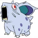 ambiguous_gender creepy humor nidoran nidoran♀ nintendo pokémon red_eyes screaming solo unknown_artist vega_voverth_(artist) video_games what  Rating: Safe Score: 19 User: The_Masked_Newfag Date: April 27, 2015