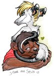 anthro bear duo female friends holly_massey male mammal marsupial opossum seux virginia_opossum   Rating: Safe  Score: 0  User: The Dog In Your Guitar  Date: May 12, 2007