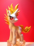 cutie_mark equine female feral fire friendship_is_magic horn mammal my_little_pony red_eyes sculpture solo tsitra360 twilight_sparkle_(mlp) unicorn  Rating: Safe Score: 4 User: Sods Date: November 12, 2012